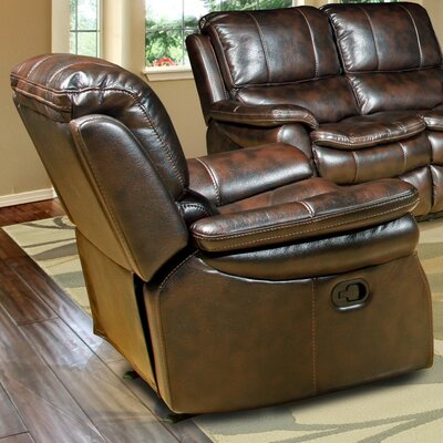 Stapleford Power Recliner Upholstery: Nutmeg