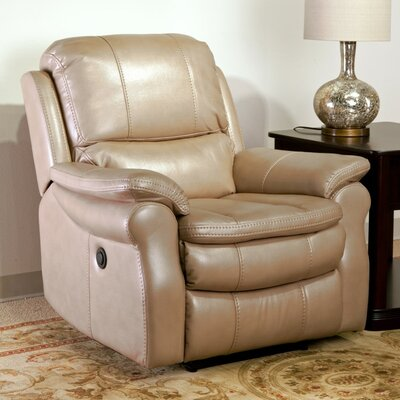 Stapleford Power Recliner Upholstery: Sand