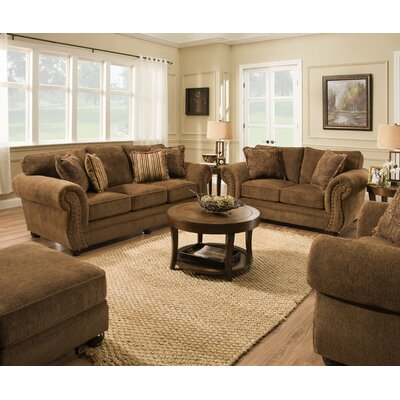 Channahon Simmons Upholstery Living Room Collection
