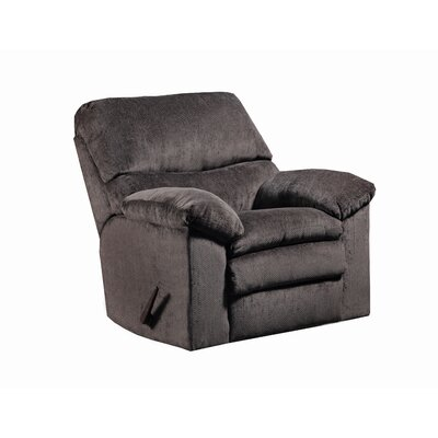 Sutton Manual Rocker Recliner by Simmons Upholstery Upholstery: Plato Chocolate