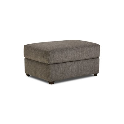 Simmons Upholstery Seminole Ottoman Color: Flannel