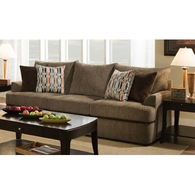 Simmons Upholstery Seminole Sofa Upholstery: Walnut