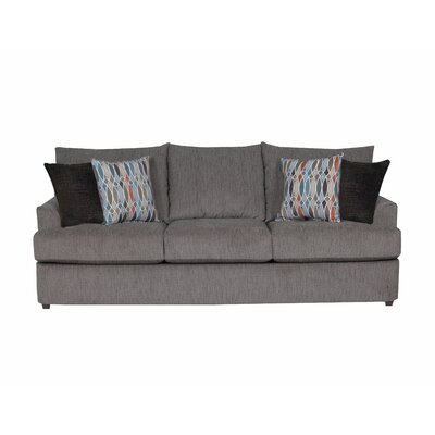 Simmons Upholstery Seminole Sofa Upholstery: Flannel
