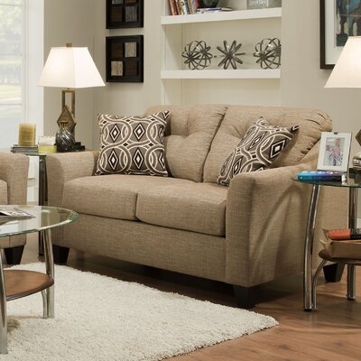 Simmons Upholstery Stirling Husk Loveseat