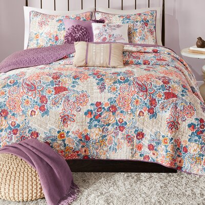 Corsica 6 Piece Coverlet Set Size: Full/Queen