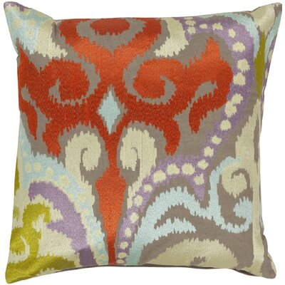 Claysburg Throw Pillow Color: Neutral / Orange, Fill Material: Polyester
