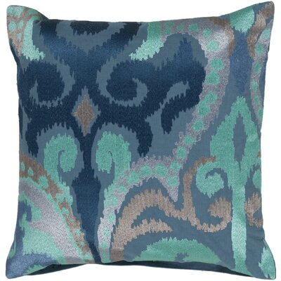 Claysburg Throw Pillow Color: Blue / Teal, Fill Material: Polyester