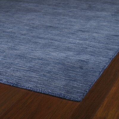 McCabe Blue Rug Rug Size: Rectangle 8' x 11'