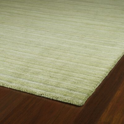 McCabe Hand-Woven Wool Celery Green Area Rug Rug Size: Rectangle 7'6