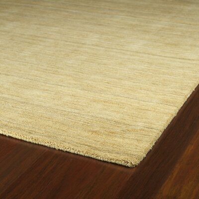 Mccabe Hand Woven Wool Yellow Area Rug Rug Size: Rectangle 8 x 11