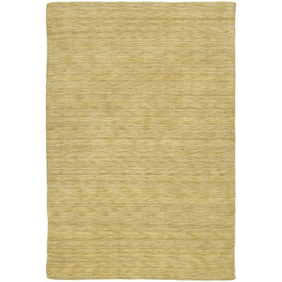 Mccabe Hand Woven Wool Yellow Area Rug Rug Size: Rectangle 5 x 76
