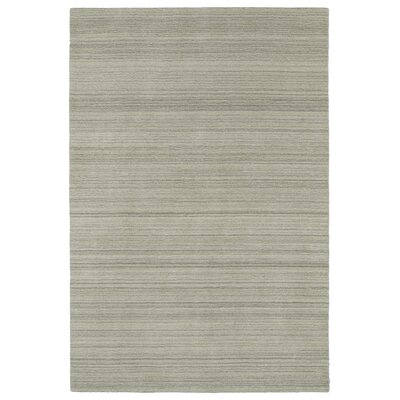McCabe Hand-Loomed Ivory Area Rug Rug Size: Rectangle 5 x 76