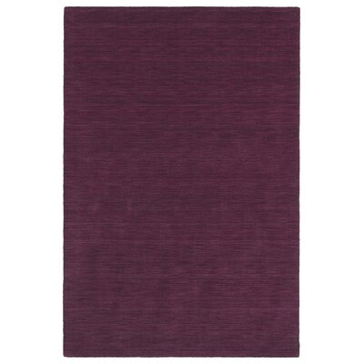 McCabe Hand-Loomed Pink Area Rug Rug Size: 3 x 5