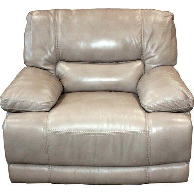Wrentham Power Recliner Upholstery: Latte