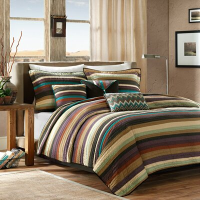 Mooresville 6 Piece Coverlet Set Color: Multi, Size: Twin/ Twin XL