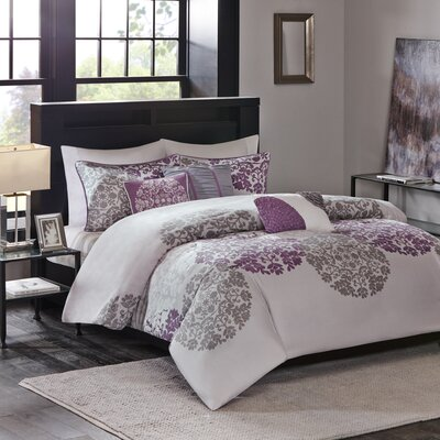 Maywood 6 Piece Duvet Cover Set Size: King / California King