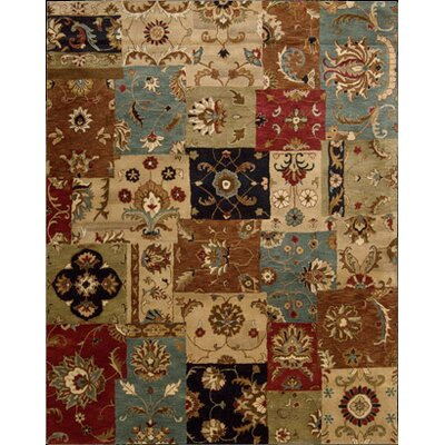 Philip Hand-Tufted Yellow/Brown/Black Area Rug Rug Size: 39 x 59
