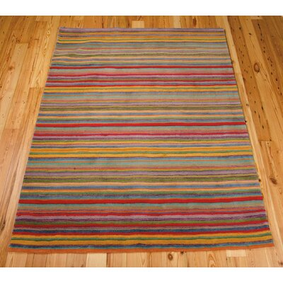 Roseland Hand-Tufted Wool Area Rug Rug Size: 8 x 11