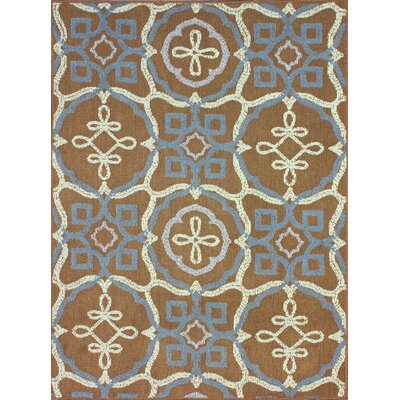 Vermont Brown Area Rug Rug Size: 56 x 76