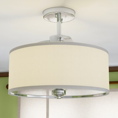 Epsom 3-Light Semi Flush Mount