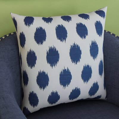 Brickyard 100% Cotton Throw Pillow Size: 18 H x 18 W