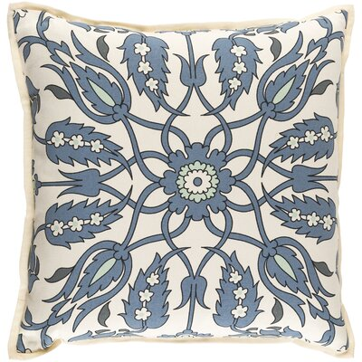 Oriole Throw Pillow Cover Size: 22 H x 22 W x 0.25 D, Color: BlueGreen