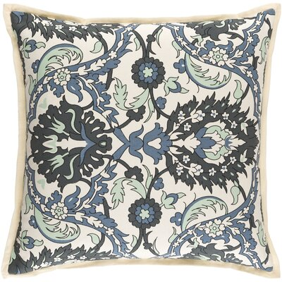 Oriole Throw Pillow Cover Size: 22 H x 22 W x 0.25 D, Color: GreenBlue