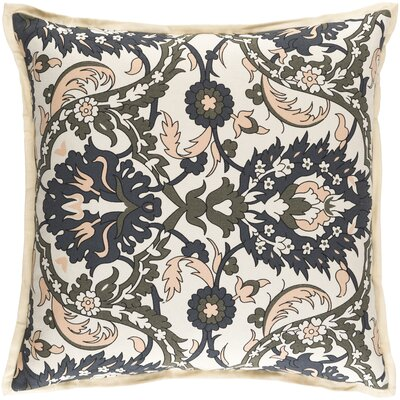 Oriole Throw Pillow Cover Size: 20 H x 20 W x 1 D, Color: OrangeBrown