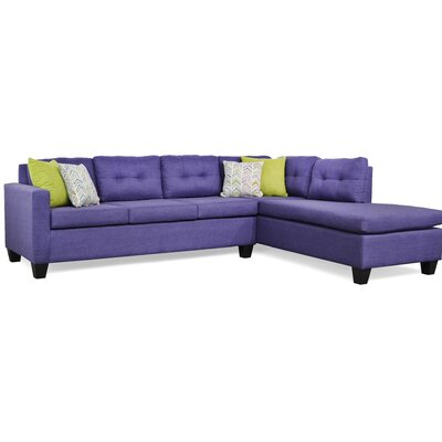 Mackay Sectional Upholstery: Oscar Amethyst