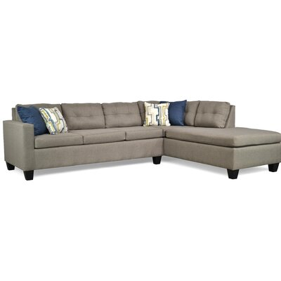 Mackay Sectional Upholstery: Jitterbug Taupe