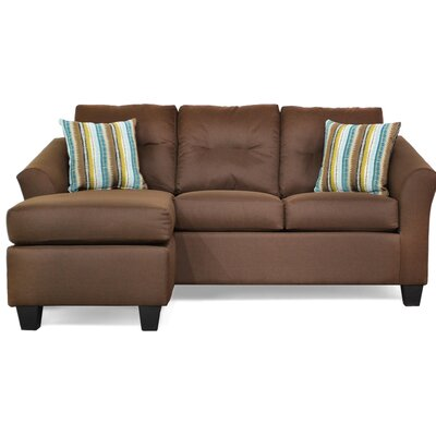 Andover Mills ADML1471 Desales Reversible Sectional Upholstery
