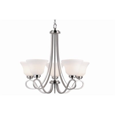 Elkville 5-Light Shaded Chandelier