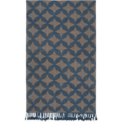 Roselawn Charcoal Area Rug Rug Size: 8 x 10