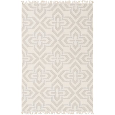Roselawn Taupe Area Rug Rug Size: 4 x 6