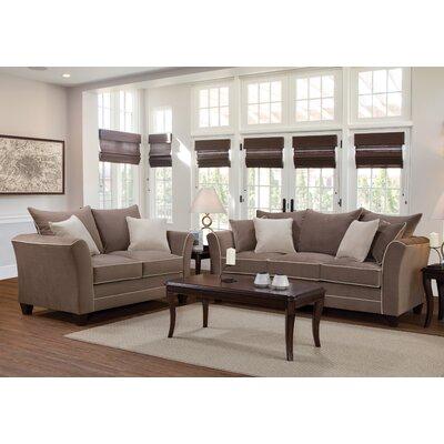 Serta Upholstery Deschamps Sofa Upholstery: Bing Ash