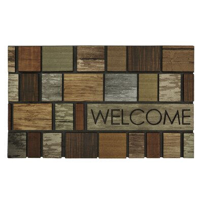 Rumford Boxed Drift Wood Doormat