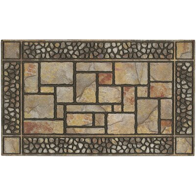 Rumford Manor Patio Stones Doormat