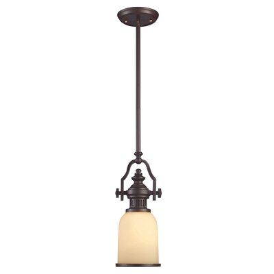 Susan 1-Light Mini Pendant Finish: Satin Nickel