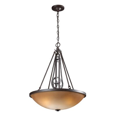 Trevino 3-Light Bowl Pendant