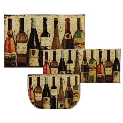 Bella 3 Piece Wine Mat Set
