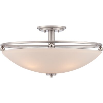 Sharon 4-Light Semi Flush Mount