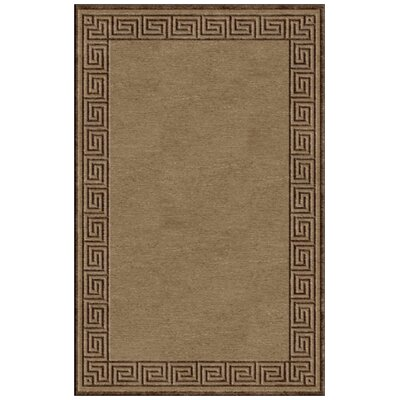Vassar Espresso/Tan Indoor/Outdoor Rug Rug Size: 47 x 67
