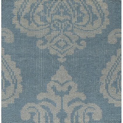 Riverview Hand-Knotted Grey Area Rug Rug Size: 6 x 9
