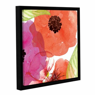Vibrant Floral IV Framed Painting Print on Wrapped Canvas RDBS8100 33341514