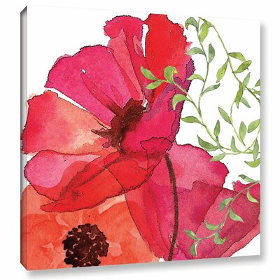 Vibrant Floral I Painting Print on Wrapped Canvas RDBS8118 33341589