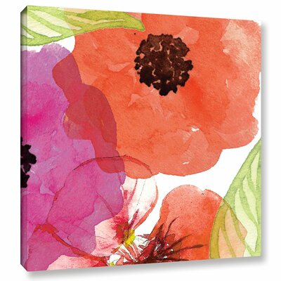 Vibrant Floral IV Painting Print on Wrapped Canvas RDBS8122 33341611