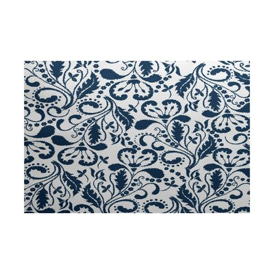 Rushton Blue Indoor/Outdoor Area Rug Rug Size: 2 x 3