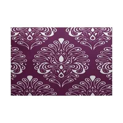 Selina Purple Indoor/Outdoor Area Rug Rug Size: 5 x 7