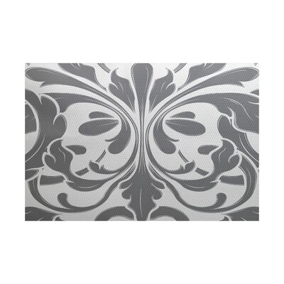 Selina Gray Indoor/Outdoor Area Rug Rug Size: 3 x 5