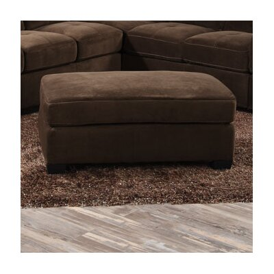 Clear Creek Ottoman Upholstery: Mocha Brown
